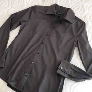 Banana Republic Fitted Button Down Dress Shirt